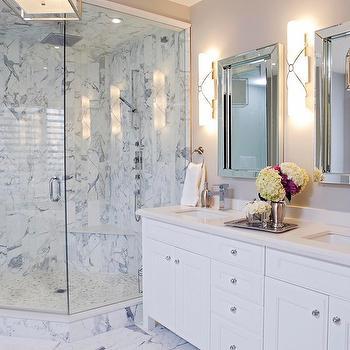 Superbe Marble Shower Design