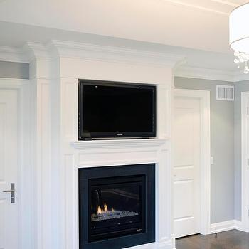 Fireplace Tv Niche - Design photos