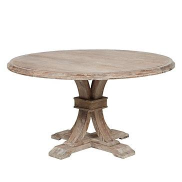 Z Gallerie Archer Round Dining Table