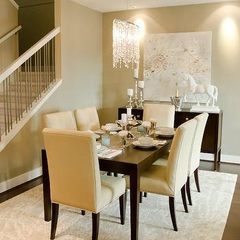 Espresso Dining Table, Contemporary, dining room, Twenty One Two