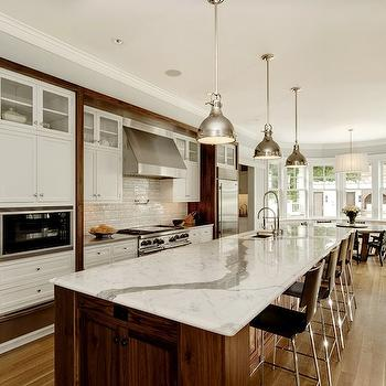 Calcutta Marble, Contemporary, kitchen, GRADE Architecture & Interior Design