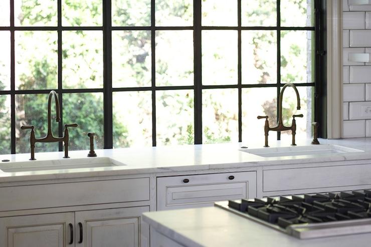 Jill Sharp   Kitchen With Factory Windows.
