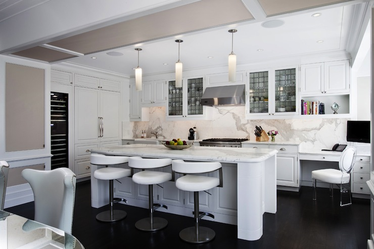 Modern White Kitchen Modern Kitchen Grade