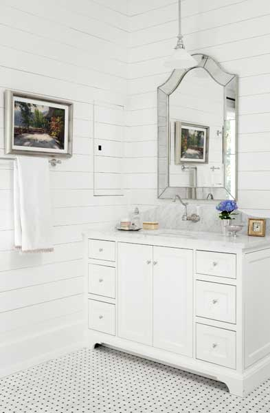 Arch Mirror, Cottage, bathroom, Hammersmith Atlanta