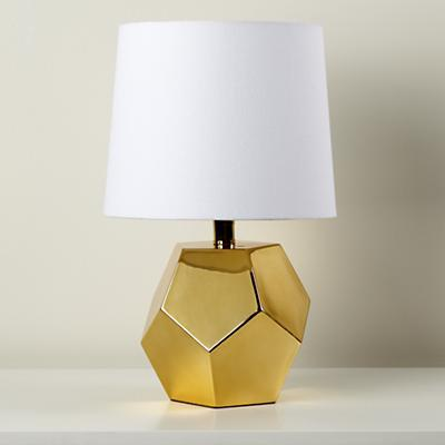 color for a bedroom gold geometric lamp base land of nod 14854