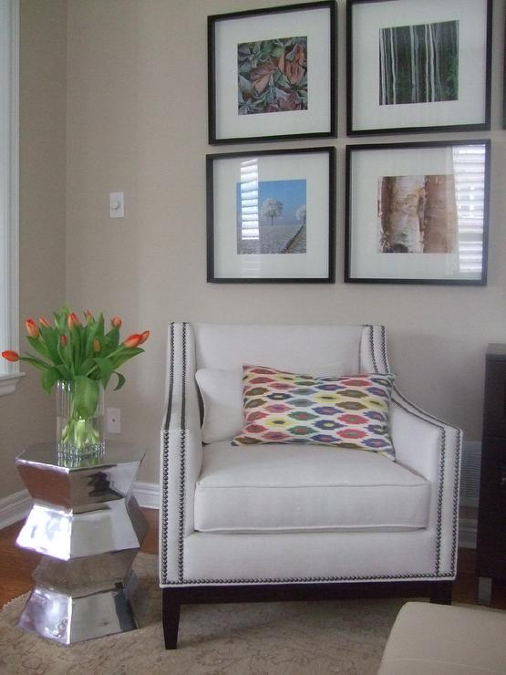 Living Room Benjamin Moore Natural Linen