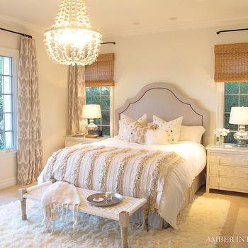 Ikat Window Panels, Mediterranean, bedroom, Amber Interiors