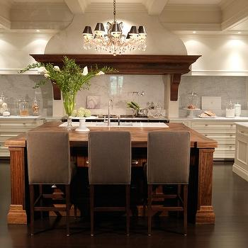 Two Tone Kitchen Design, Transitional, kitchen, House & Home