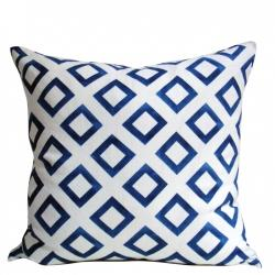 Sapphire Corso Pillows, Christine Maxwell.com