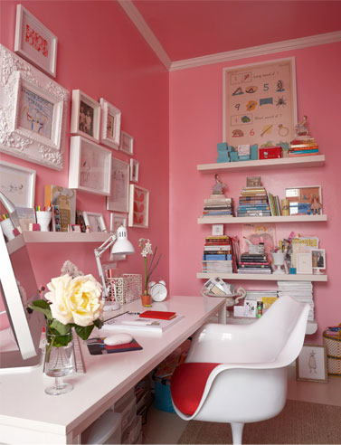 pink office desk. Pink Office Desk I