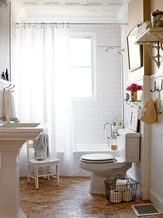 Cottage Bathroom Cottage Bathroom Bhg