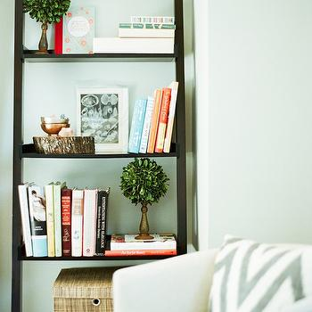 Seafoam Green Room, Contemporary, living room, Restoration Hardware Seafoam, Design Sponge
