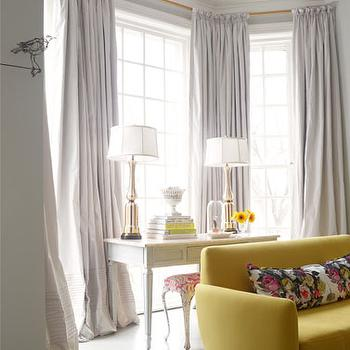 Bay Window Curtains Design Ideas