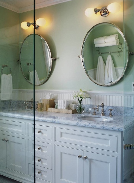 Vintage Double Bathroom Vanities double vanity ideas - transitional - bathroom - designer friend