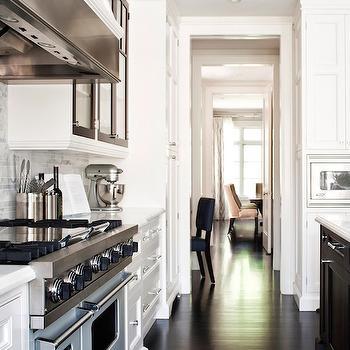 Two Tone Cabinets, Transitional, kitchen, Jennifer Worts Design