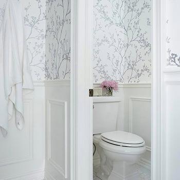 Metallic Silver Wallpaper. White And Silver Wallpaper Design Ideas
