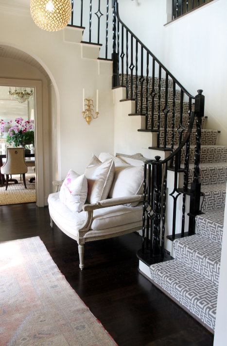 Foyer Staircase Runners : Contemporary stair runners design ideas