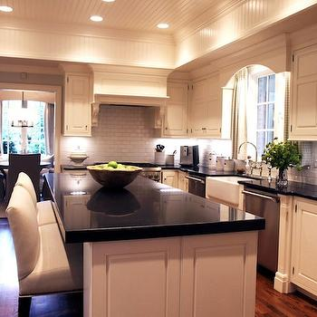 Absolute Black Granite, Transitional, kitchen, Lucy and Company