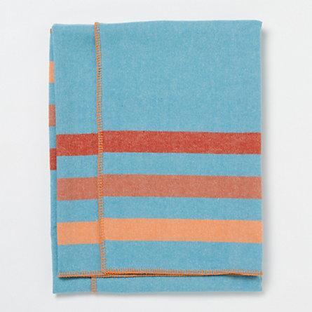 Wool Throw Orange Bedding Amp Blankets Accessories