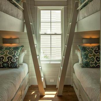 Built In Bunk Beds, Cottage, bedroom, Geoff Chick