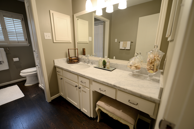 Ivory Bathroom Cabinets Transitional Bathroom Cote