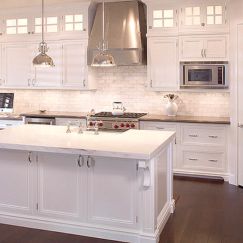 Under The Cabinet Microwave - Transitional - kitchen - Sarah ...