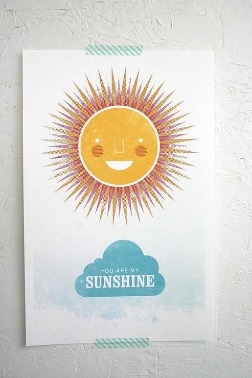 Good Morning Sunshine Print By Gusandlula Etsy