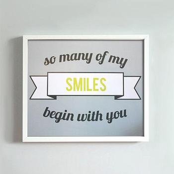 8x10 Smiles print by GusAndLula on Etsy