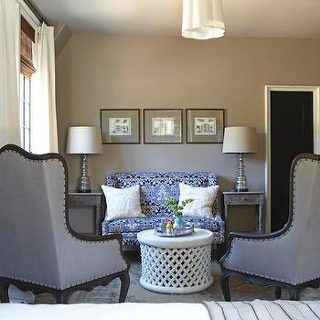Taupe Paint Colors, Transitional, bedroom, Benjamin Moore Ashley Gray, Tracery Interiors