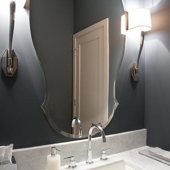 Blue Bathroom Paint Color Design Ideas