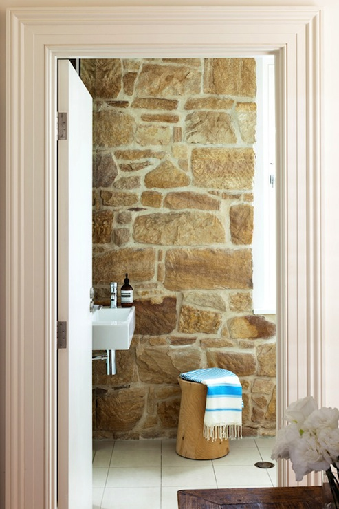 Stone Wall Country Bathroom Arent Pyke