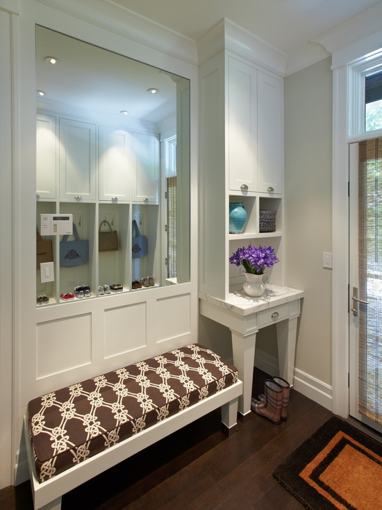 Mud Room Design Contemporary Laundry Room Polsky