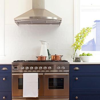 Cobalt Blue Mosaic Backsplash Design Ideas