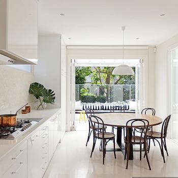 White Modern Kitchen Cabinets, Contemporary, kitchen, Arent & Pyke