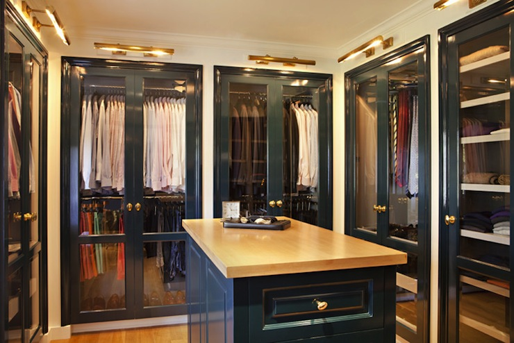 Closet Island Contemporary Closet Bonesteel Trout Hall