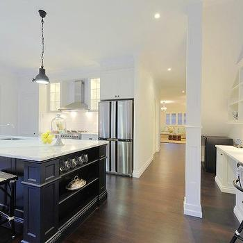 2 Tone Kitchen, Contemporary, kitchen, A Welsh Girl in Australia