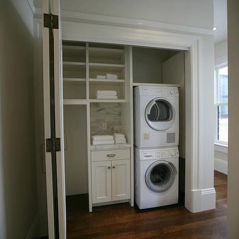 Laundry Room Closet Doors Design Ideas