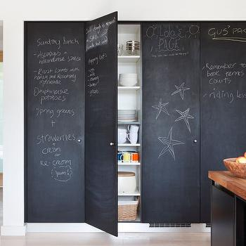 Chalkboard Pantry Doors & Chalkboard Pantry Door Design Ideas