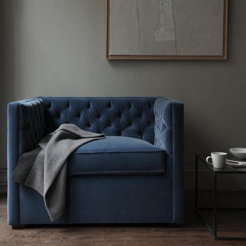 & canvas - Mercer Tufted Club Chair