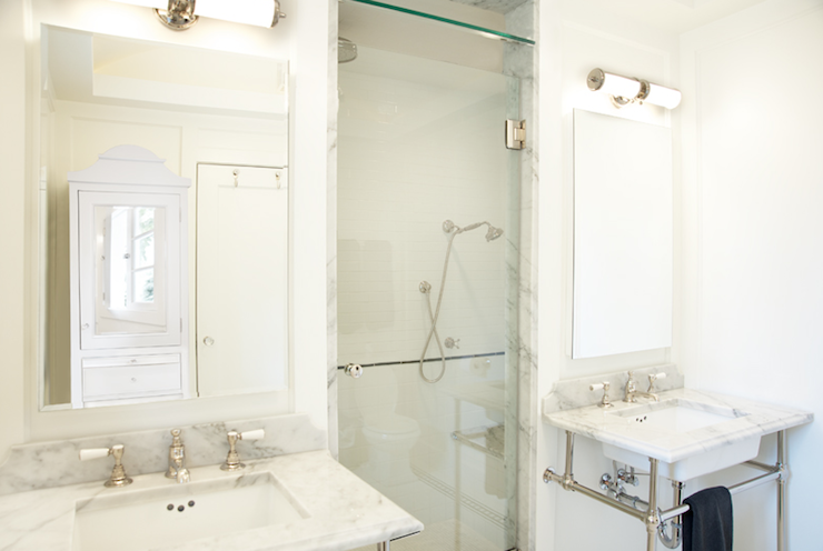 Double Vanity Ideas Transitional Bathroom Anne
