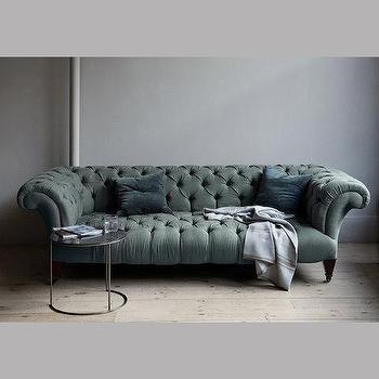 Atelier Chesterfield Bottle Green Tufted Sofa