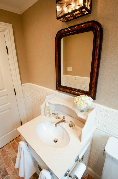 Arched Bathroom Mirror Lighting