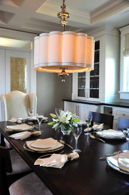 Dining Room Chandelier with Shades