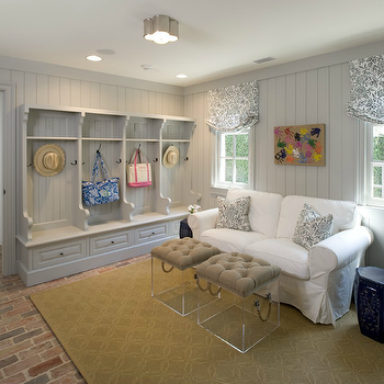 Mudroom Design, Cottage, laundry room, Munger Interiors