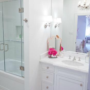 Girl's Bathroom Design, Contemporary, bathroom, Munger Interiors