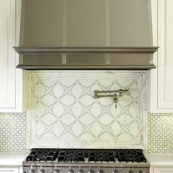 Geometric Kitchen Backsplash Design Ideas