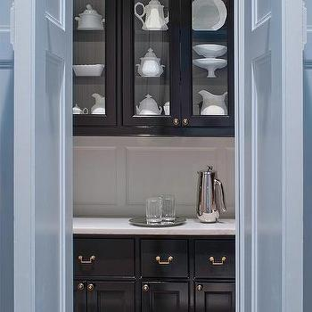 Butler's Pantry Cabinets, Transitional, kitchen, Donald Lococo Architects