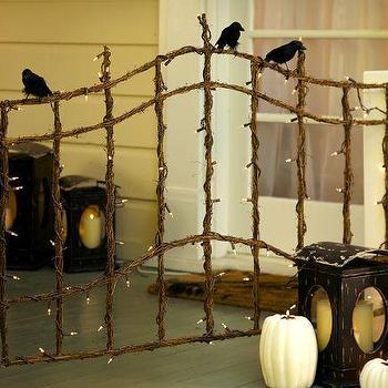 Lit Twig Gate, Pottery Barn