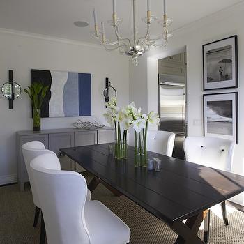 Tufted Dining Chair, Cottage, dining room, Lynn Morgan Design