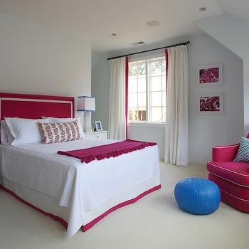 Hot Pink Girl's Room, Contemporary, girl's room, Lynn Morgan Design